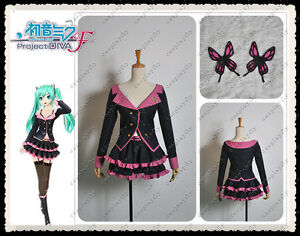 Vocaloid-Hatsune-Miku-Project-DIVA-F-Sweet-Devil-MIKU-Cosplay-Costume
