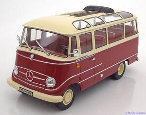 1:18 Norev Mercedes O319 bus 1960 red/creme