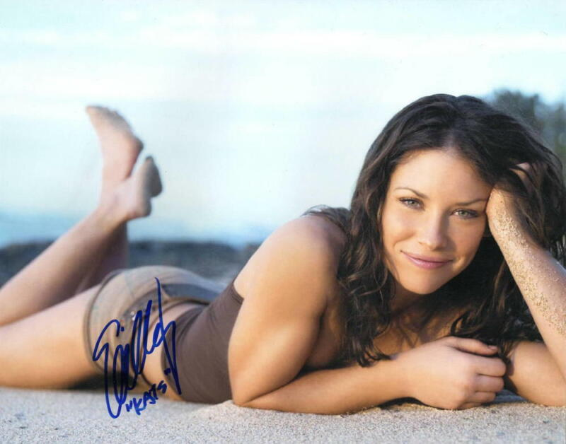 HOT SEXY EVANGELINE LILLY SIGNED 8X10 PHOTO LOST ANT-MAN AUTHENTIC AUTOGRAPH COA