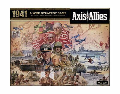 Axis and Allies 1941 Board Game, New, Free Shipping