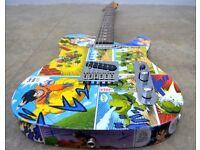 Custom Fender Squier Telecaster electric guitar - Dragonball Manga Theme