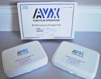 Avx Thin Film Rfmicrowave Capacitor Kit Accu-p0805kit02