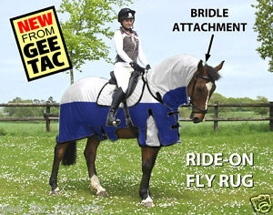 GEE-TAC-HORSE-RUG-RIDE-ON-FLY-RUG-NO-JOIN-COMBO-UV-RATED-FLY-MASK-ALL-SIZES