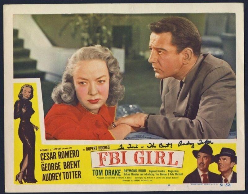 F. B. I. GIRL (1951) 27881