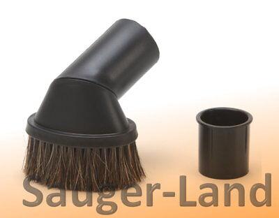 Möbeldüse Roßhaar Möbelbürste Sauger Staubsauger drehbar Möbelpinsel 32/35mm #32 - Möbel Düse