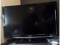 """26"""" LED TV with Freeview + External Antenna for sale cheap due to moving"""