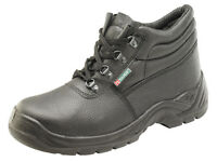 New - Click Footwear Steal Toe Cap Work Safety Chukka Boots - Size : UK 9