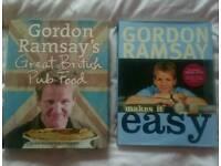 Two Gordon Ramsey Cook Books DVD