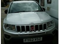 2012 Jeep Compass 2.4 Limited Reg November 2012