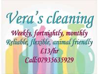 Cleaning in Basingstoke and surrounding areas. £13/hour