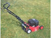 "Petrol mower mulch push type 18"" Rover Regal"