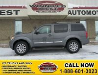 2009 Nissan Pathfinder Storm Gray, LE 4X4, Heated Leather, Sunro