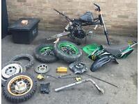 150cc pit bike Pitbike stomp project like dt yz cr rs ktm Kx dr etc