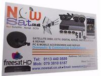 SKY INSTALLATION ENGINEER / FREESAT / FREEVIEW AERIAL / CCTV REPAIR / MOBILE REPAIR / WALL MOUNTING