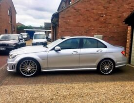 MERCEDES BENZ C63 AMG V8 Performance pack low mileage not m3, RS4, m5