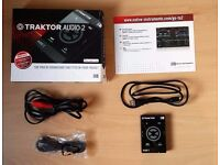 Native Instruments Traktor Audio 2 Boxed