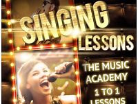 Singing Lessons / Vocal Tuition - 1 to 1 Lessons