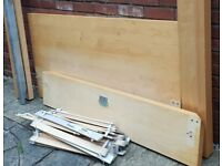 IKEA MALM double-size bed frame. In used but good condition