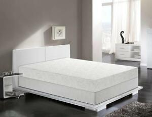 """Primo International Dream Collection Charisma 8-Inch Gel Memory Foam Mattress with """"Sleep Cool"""" and Cover (KING) NEW"""