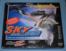 'Sky Challenger' Twin RC Helicopter Game
