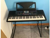 Yamaha PSR-230 Electric Keyboard and stand