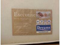 Dreams Standard Double Mattress in fantastic condition