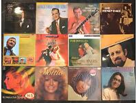 12 x vintage vinyl records of mixed genres
