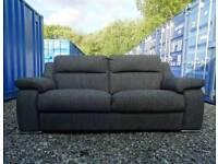 Sisi Italia Charcoal Grey 3 Seater Sofa+Armchair *Like New Condition*