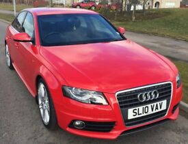 Audi A4 (2010) 2.0 TDI S Line Special Edition 4dr -Excellent Condition - Low Mileage £9,495 O.N.O