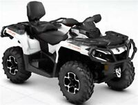 2015 Can-Am Outlander Max 500 XT $31.26/wk (120 months @ 7.99%)