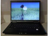 Fujitsu Siemens Esprimo D9500 Laptop W10 3GB Wifi
