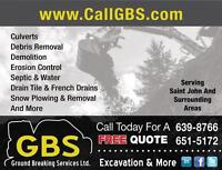 CallGBS.com • For All Your Excavation Needs & More