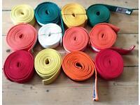 Dozen Judo Belts