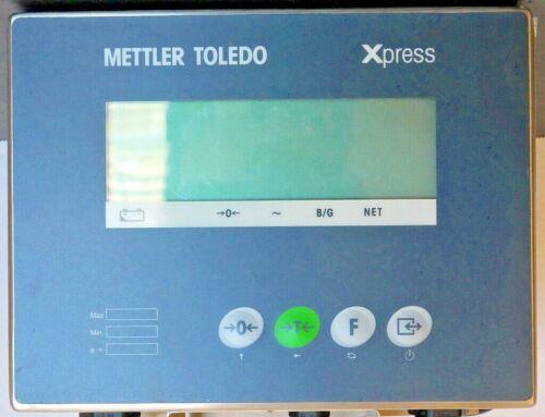 METTLER TOLEDO WEIGHING INDICATOR XIF- IN GOOD CONDITION