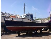 MITCHELL 23 Sea Angler Fishing Boat Day Boat 'RAVEN' 1979