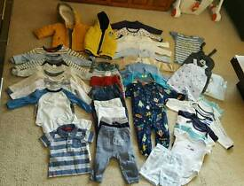 Baby boy bundle mix clothes 6 -9 months