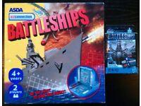 'Battleships' Board & Card Games (as new)