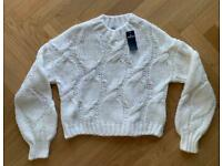 Hollister Cable Knit Jumper
