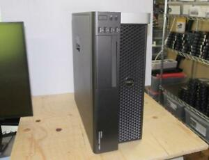 Dell Precision T3600 Tower PC Xeon E5-1650 6C 3.2GHz CPU 32GB RAM 2x 500GB HDD Quadro K4000