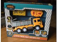 Battery-Powered Construction Toy. Unused in packaging