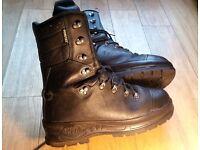 Haix gore-tex chainsaw boots size 9