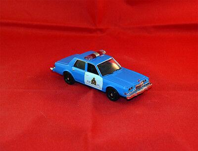 1983 DODGE DIPLOMAT CANADA POLICE - 1/43 MOTOR MAX - RCMP ..