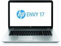 hp envy 17 , laptop