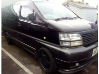 <<<<@!@>>>> NISSAN ELGRAND 7 SEATER FULL LEATHER (( R TYPE )) ALL BLACK ( PX WELCOME )