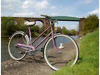Lovely Vintage Raleigh Caprice Ladies Dutch Loop Town Bike Cameo