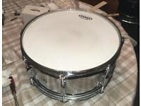 Pearl Export 14 x 6.5 steel snare drum