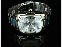 New Invicta Lupah Special Edition Silver Tone High Polished