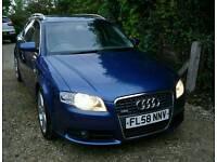 Audi A4 Avant S Line 58 plate 79k miles great condition