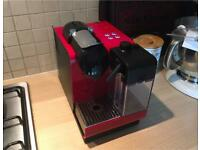 Delonghi nespresso coffee machine lattissima with milk frother originally cost £260