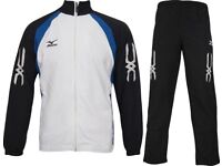 Mens Mizuno Pro Team Tracksuit Crystal (60WW851-09) Size Small Brand New #4859